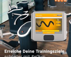 eGym - sicheres, einfaches und schnelles Training!