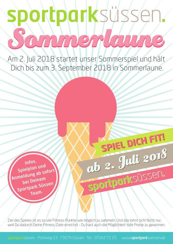 Sommerlaune im Sportpark Sportpark Süssen