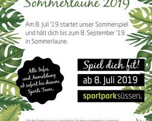 SOMMERSPIEL SOMMERLAUNE 2019